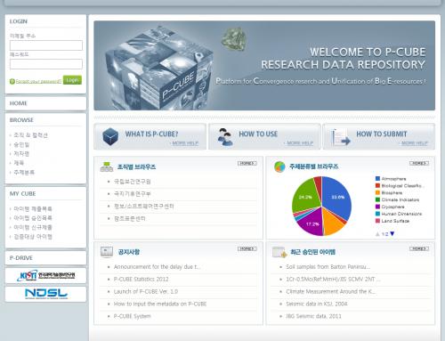 오픈 소스 기반 과학데이터 플랫폼 P-CUBE